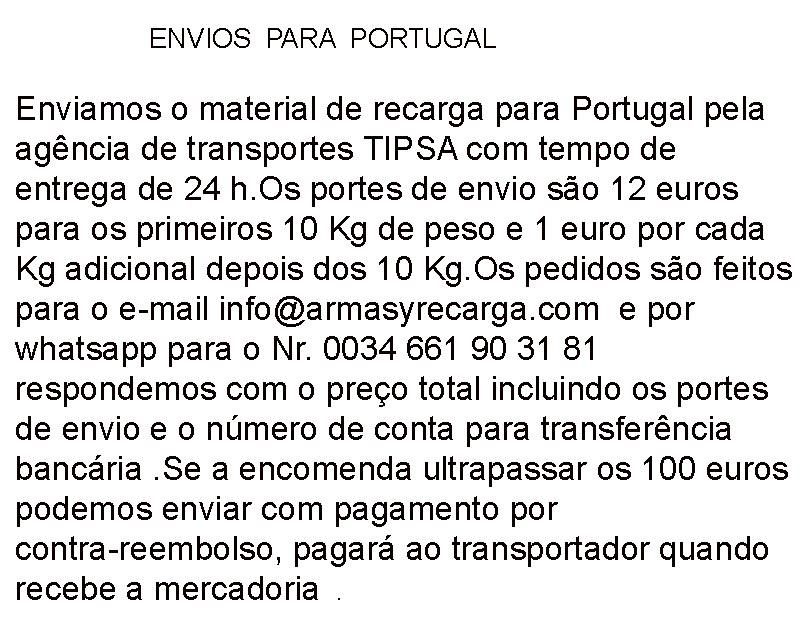Traduccion Portugal